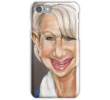 Dame Helen Mirren iPhone Case/Skin