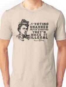 Emma Goldman On Voting T-Shirt