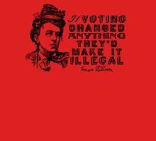 Emma Goldman On Voting Unisex T-Shirt