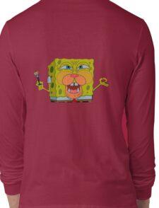 Spongebob Cat Long Sleeve T-Shirt