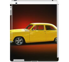 1950 Ford Coupe 'Studio Red' iPad Case/Skin