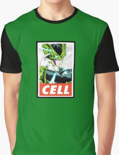 (DRAGON BALL Z) Cell Graphic T-Shirt