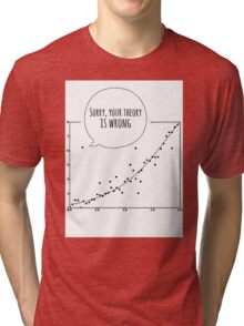 Sorry graphic Tri-blend T-Shirt