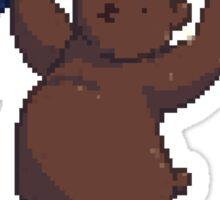 Pixel Circus Bear Sticker