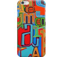 Colourful Alphabet Wall Arts iPhone Case/Skin