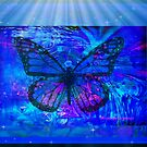 The Heavenly Butterfly by Sherri Palm Springs  Nicholas