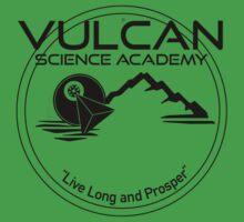 Vulcan Science Academy Star Trek Spock T-shirt Tee by chadkins