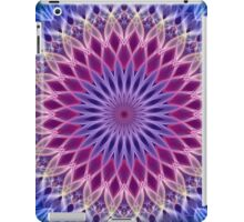 Mandala in pastel blue and pink tones iPad Case/Skin