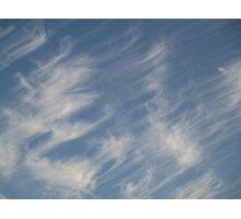 Wispy September Sky Photographic Print