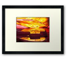 Faith in Flames Framed Print
