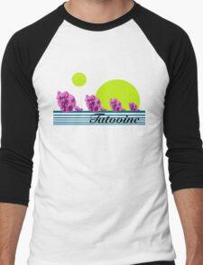 Vintage Vacation SciFi Men's Baseball ¾ T-Shirt