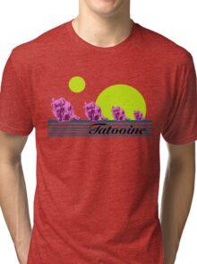 Vintage Vacation SciFi Tri-blend T-Shirt
