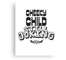 Cheeky Child Canvas Print