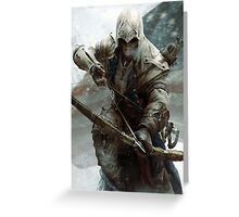 assassin creed  Greeting Card