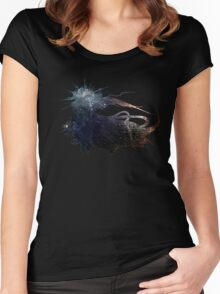 Final Fantasy XV logo universe Women's Fitted Scoop T-Shirt