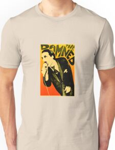 Dave Vanian - The Damned Tour Poster Unisex T-Shirt