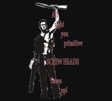 Army of Darkness- Screw Heads by HandsFreeGlitch