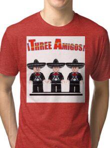 Lego Three Amigos! Tri-blend T-Shirt