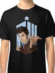 Doctor Who: Tenth Doctor  Classic T-Shirt