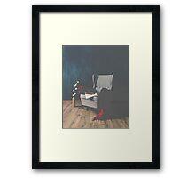 Vintage Chair Framed Print