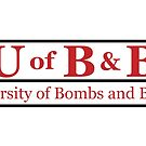 University of Bombs and Bullets Master EOD by jcmeyer