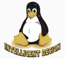 Linux Penguin Intelligent Design One Piece - Long Sleeve