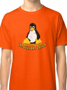 Linux Penguin Intelligent Design Classic T-Shirt