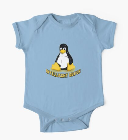Linux Penguin Intelligent Design One Piece - Short Sleeve