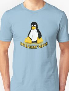 Linux Penguin Intelligent Design Unisex T-Shirt