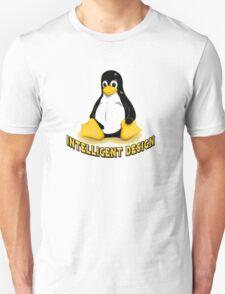 Linux Penguin Intelligent Design Unisex T-Shirt
