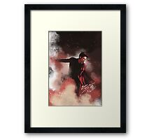 Chanyeol Framed Print