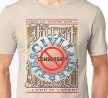 First Amendment First Unisex T-Shirt