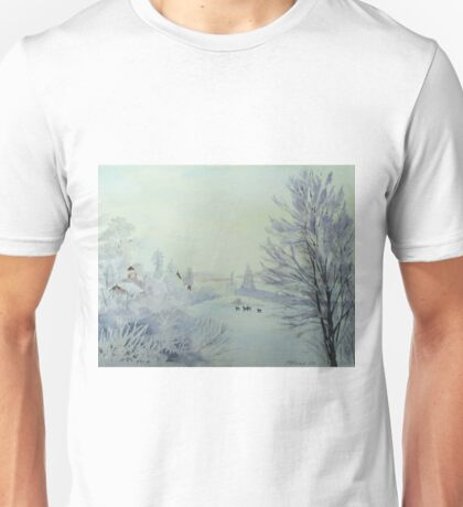 Winter Visitors Unisex T-Shirt