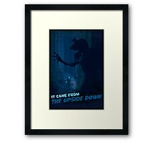 It Came from the Upside Down Framed Print