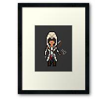 Pixel Connor Framed Print