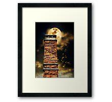 Tower By Moonlight Framed Print