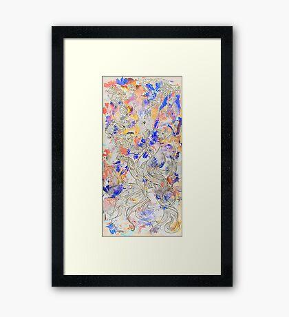 Rays of Paradise Framed Print