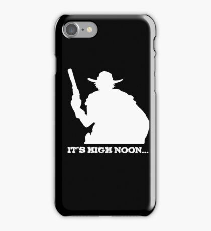 McCree - It's High Noon White iPhone Case/Skin