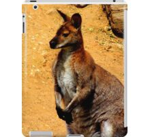 Standing Wallaby iPad Case/Skin