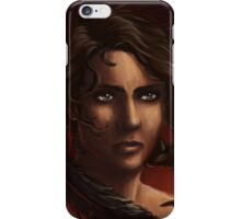 the girl on fire iPhone Case/Skin