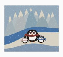 Cute Penguins Baby Tee