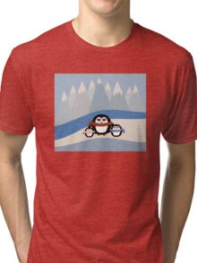 Cute Penguins Tri-blend T-Shirt