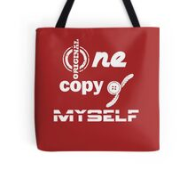accessory*one original copy of myself*w* Tote Bag