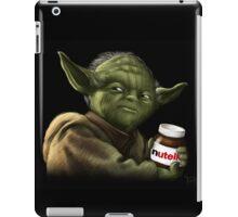 Yoda with Nutella iPad Case/Skin