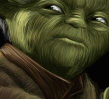 Yoda with Nutella Sticker