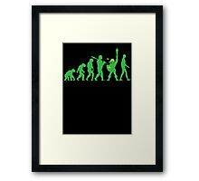 Missing Link Framed Print