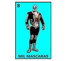 Mil Mascaras Photographic Print