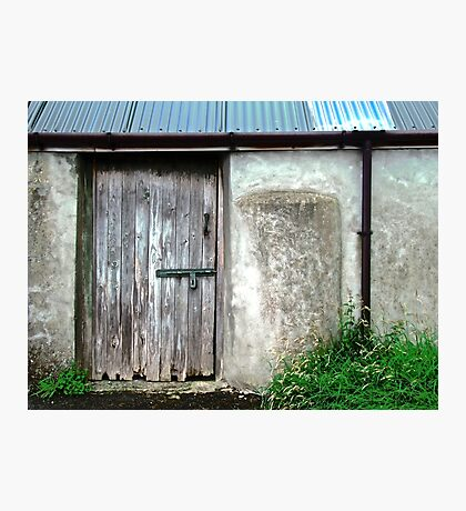 Old shed - Ramelton, County Donegal, Ireland Photographic Print