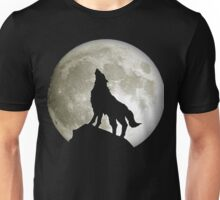 Super Moon and Wolf t-shirts Unisex T-Shirt