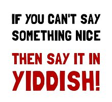 Say It In Yiddish by AmazingMart